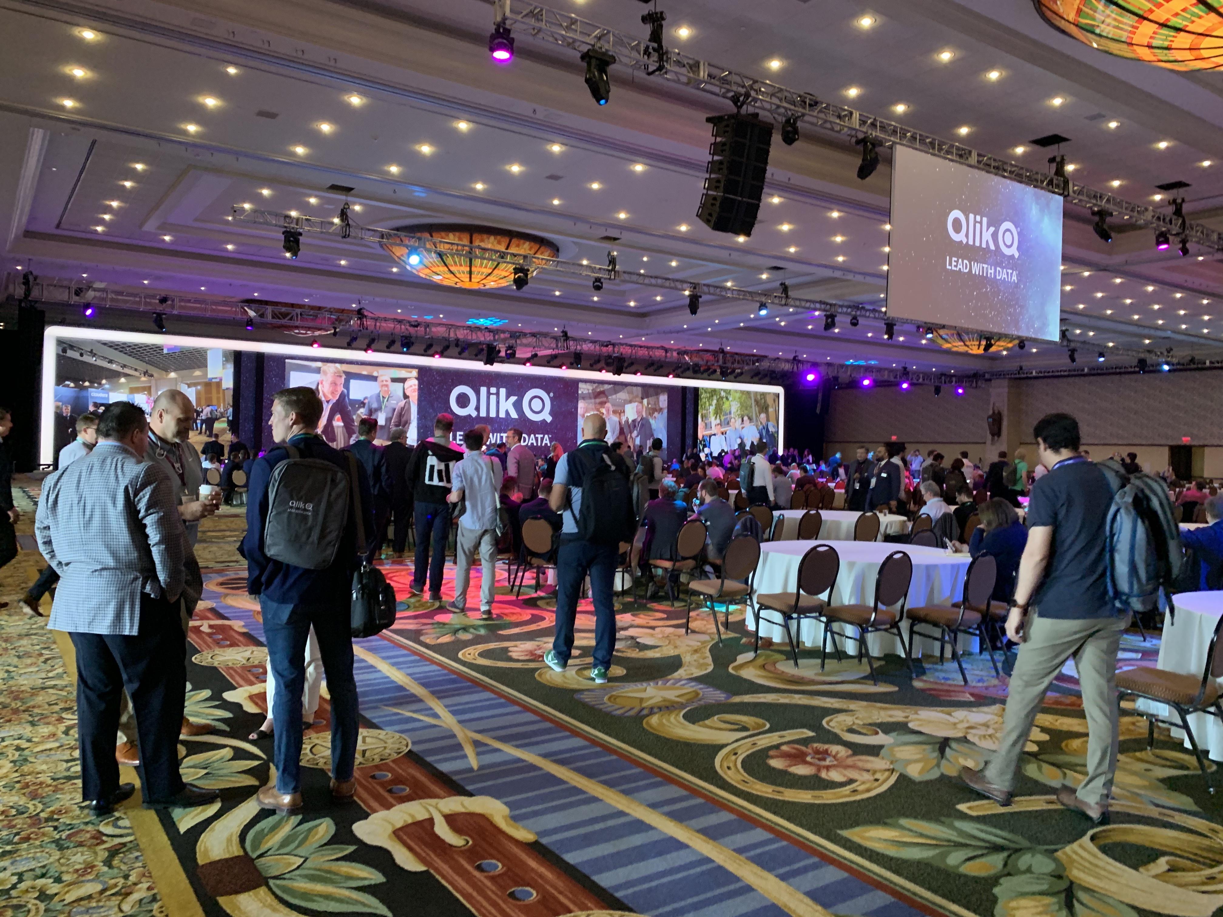 Qlik®のイベント(Qonnections2019)に行ってきました。